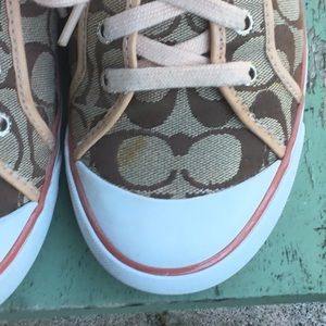 Coach Shoes - Coach Signature Sneakers 8.5M, used
